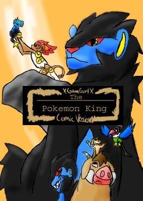 La influencia del rey león en el mundo pokemón The_pokemon_King_COVER_by_XGameGirlX