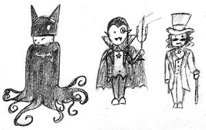 Bruce, Bela, and Gary by kurios