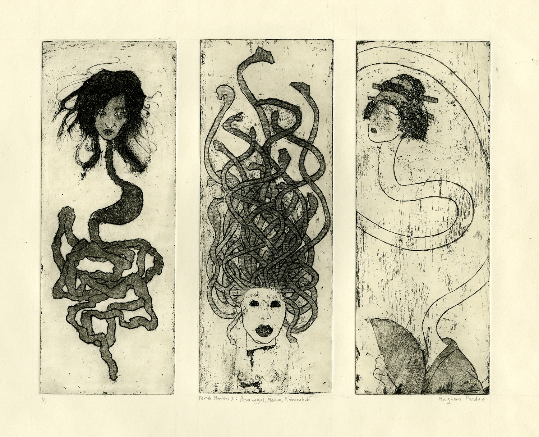 Female Monsters Series 1 by kurios