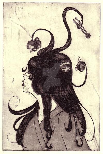 Futakuchi-onna Test 1 by kurios