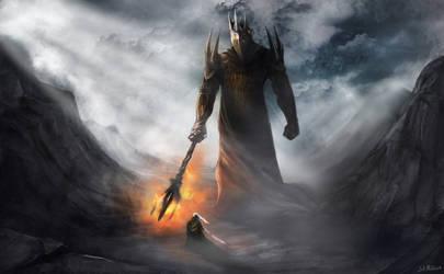 Morgoth and Fingolfin