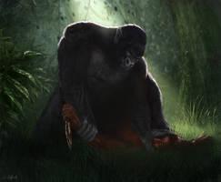 Ape-man by JMKilpatrick