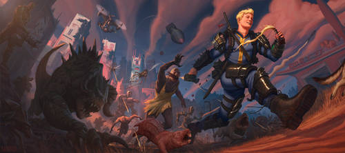 Vault Boy by JMKilpatrick
