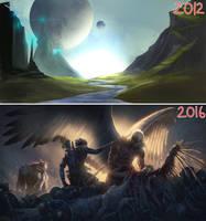 2012-2016 progression by JMKilpatrick