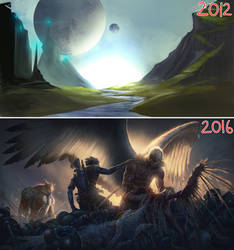 2012-2016 progression