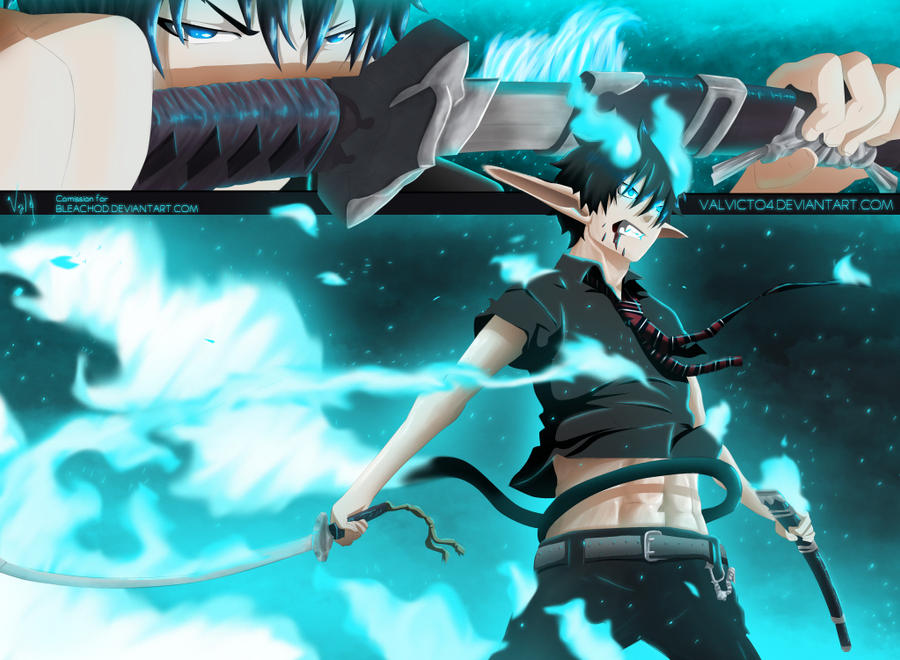 Ao no exorcist by valvicto4