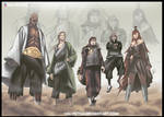 The final team - 5 kages
