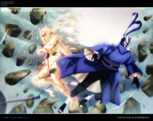 Naruto Vs Tobi by valvicto4