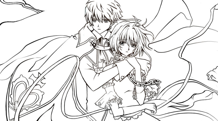 Tsubasa: Reservoir Chronicle coloring pages to print