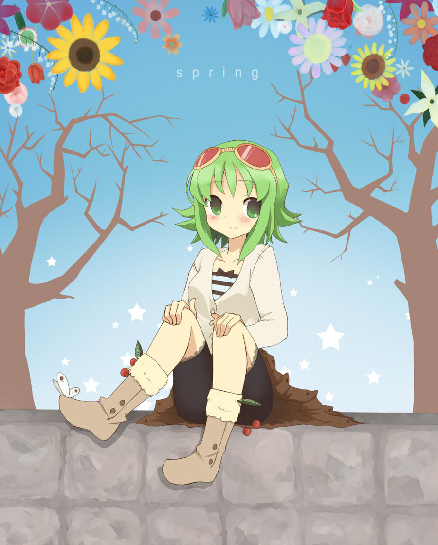 Gumi-spring by chocoblanc