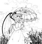 Remilia in garden