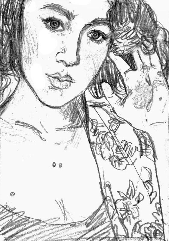 Autoportrait by chocoblanc