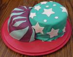 test fondant cake