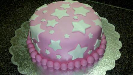 Baby Shower Star Cake