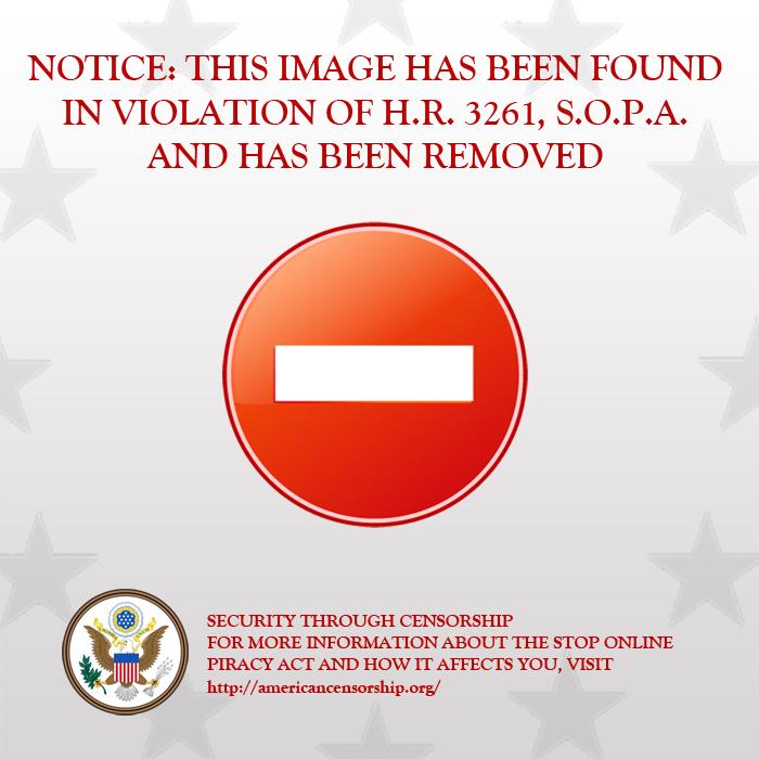 STOP SOPA by Zanowin