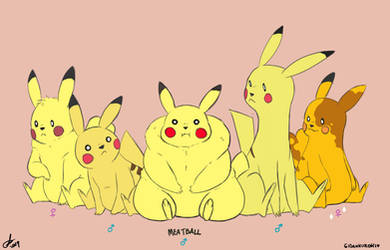 Meet Meatball's family by Gidan-Kuroki