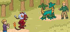 Battle in da forest TEST by Hek-el-grande