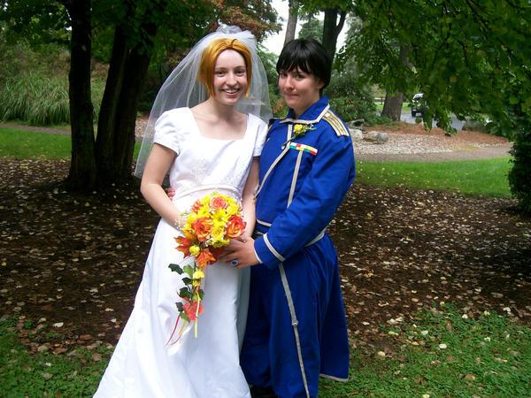 RoyEd Wedding by worstdrawereva