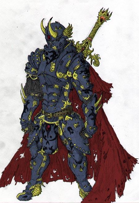 Thorn Razel Dark_demon_warrior_colored_by_needsmorecolor-d386dyr