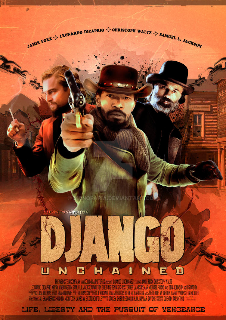 Poster for the movie Django Unchained by ManoFaria on ...