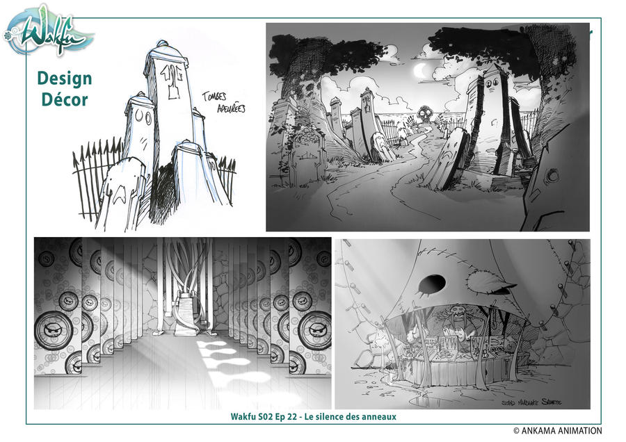 Anime Background Design Design bg Wakfu Anime le