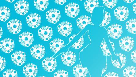 Scion Pattern Wallpaper