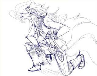 Cowboy up by VincentDante