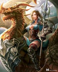 Dragoon Lady by Chenyanyan