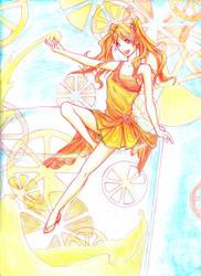 Orange Juicy by Dekinaaa