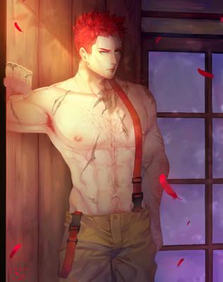 Firefighter Enji