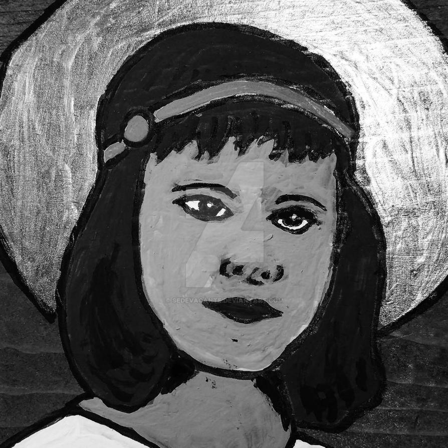 Venerable Anne de Guigne - BW by sedevacante