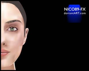 Face Vector Art by nico89-fx