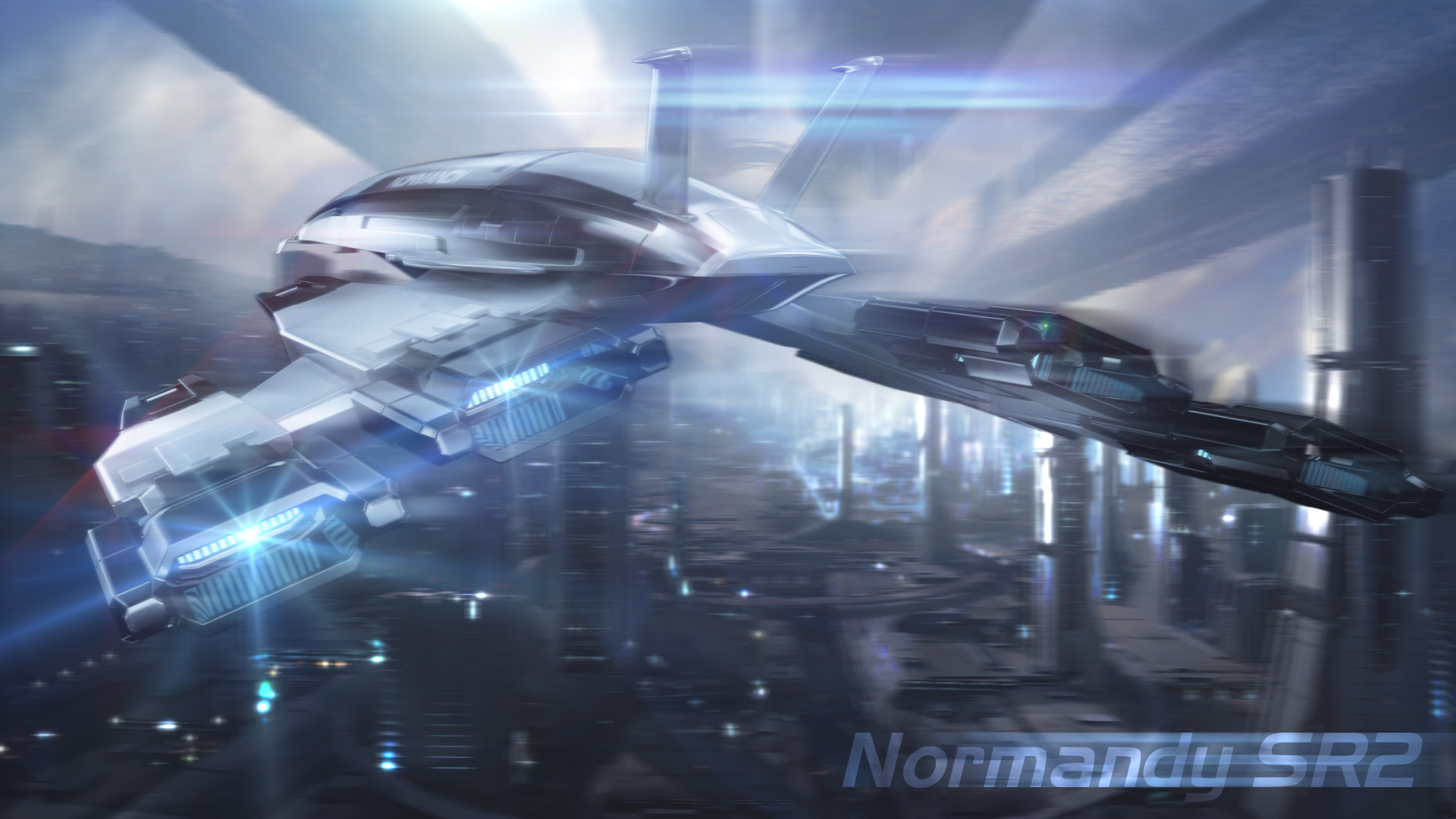 Normandy SR2 V2 BackView by nico89-fx