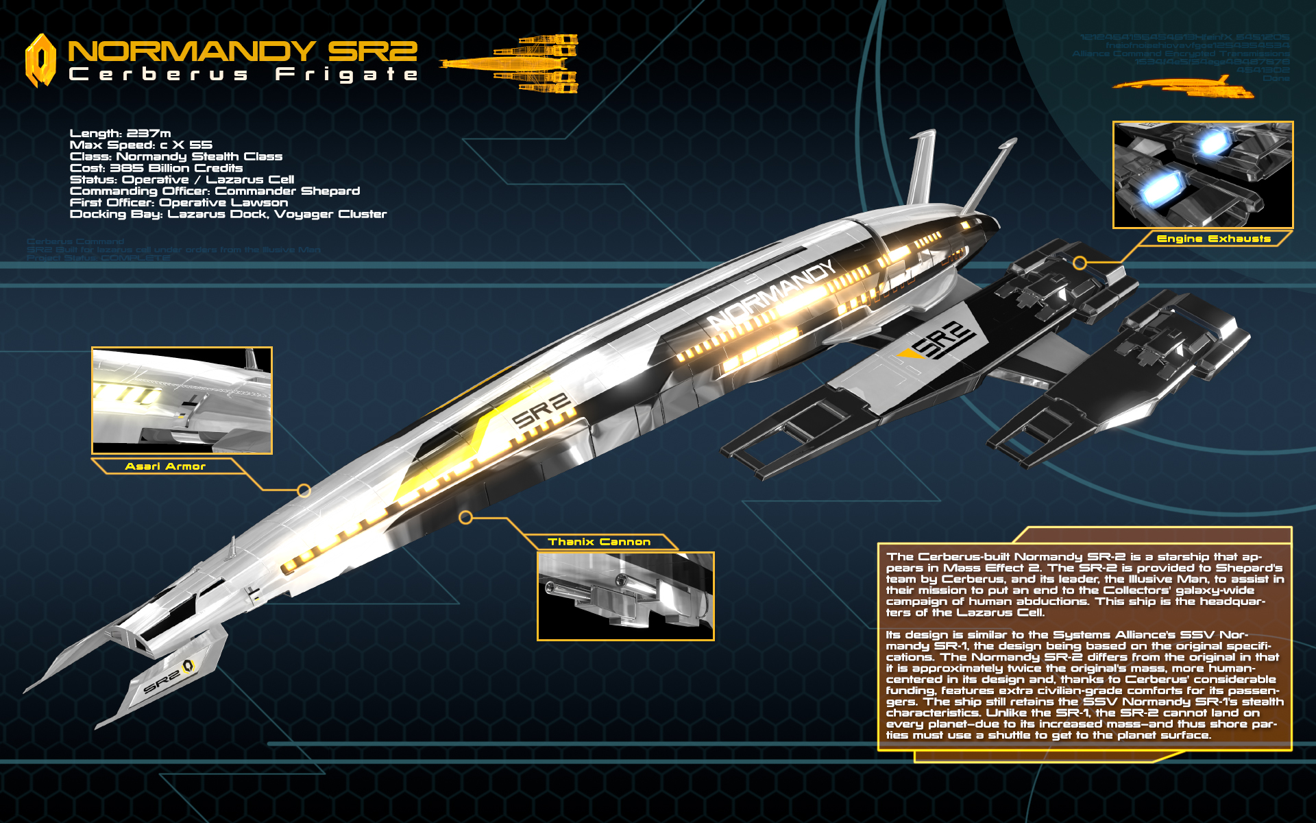 Ssv Normandy Sr 2 18 Ship Replica: Normandy SR2 Infography By Nico89-fx On DeviantArt
