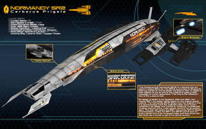 Normandy SR2 Infography 2.0 by nico89-fx