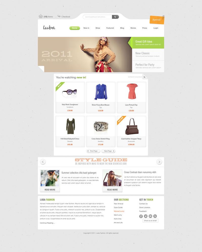 luba fashion grey by zee7