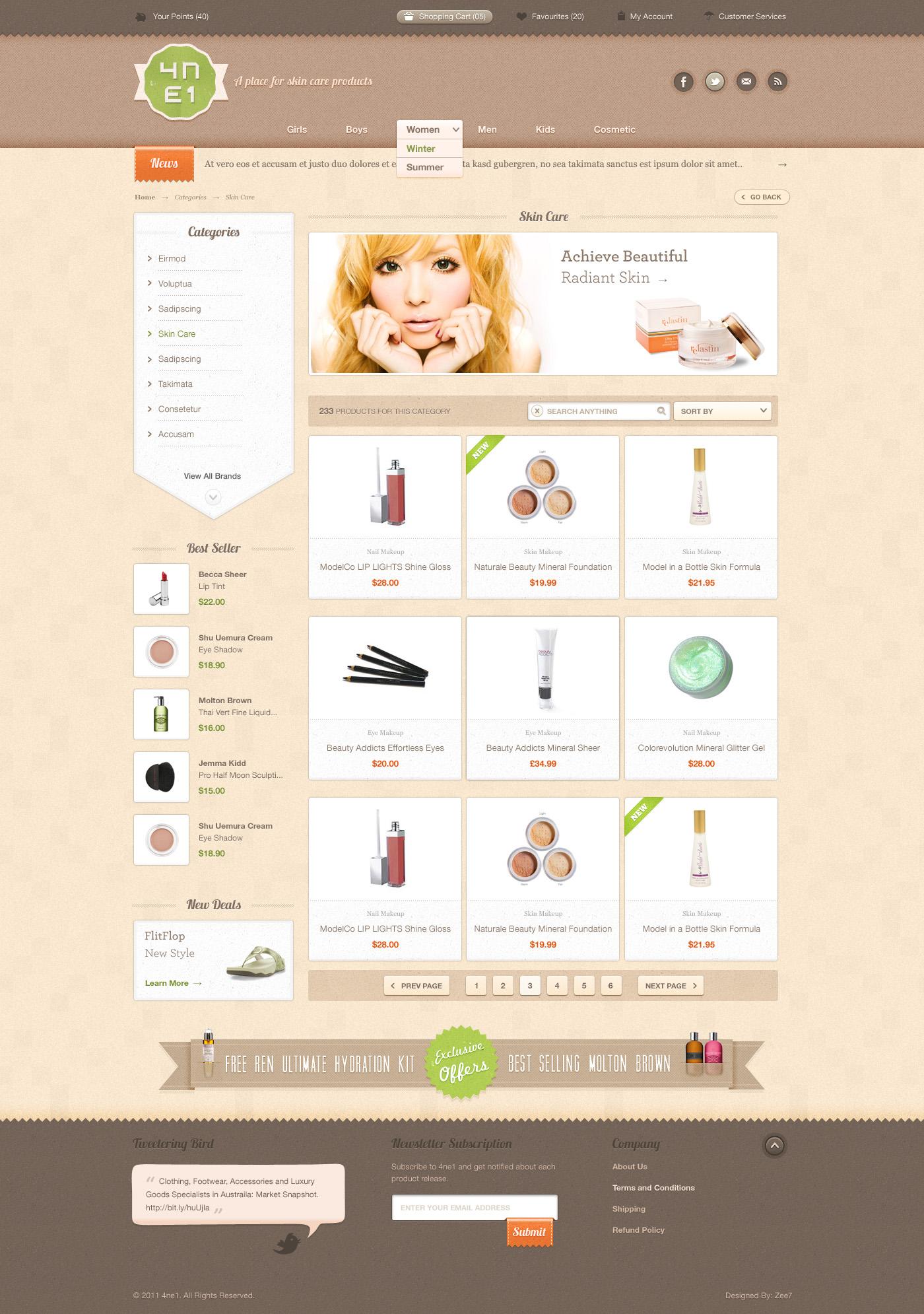 4ne1 products by zee7