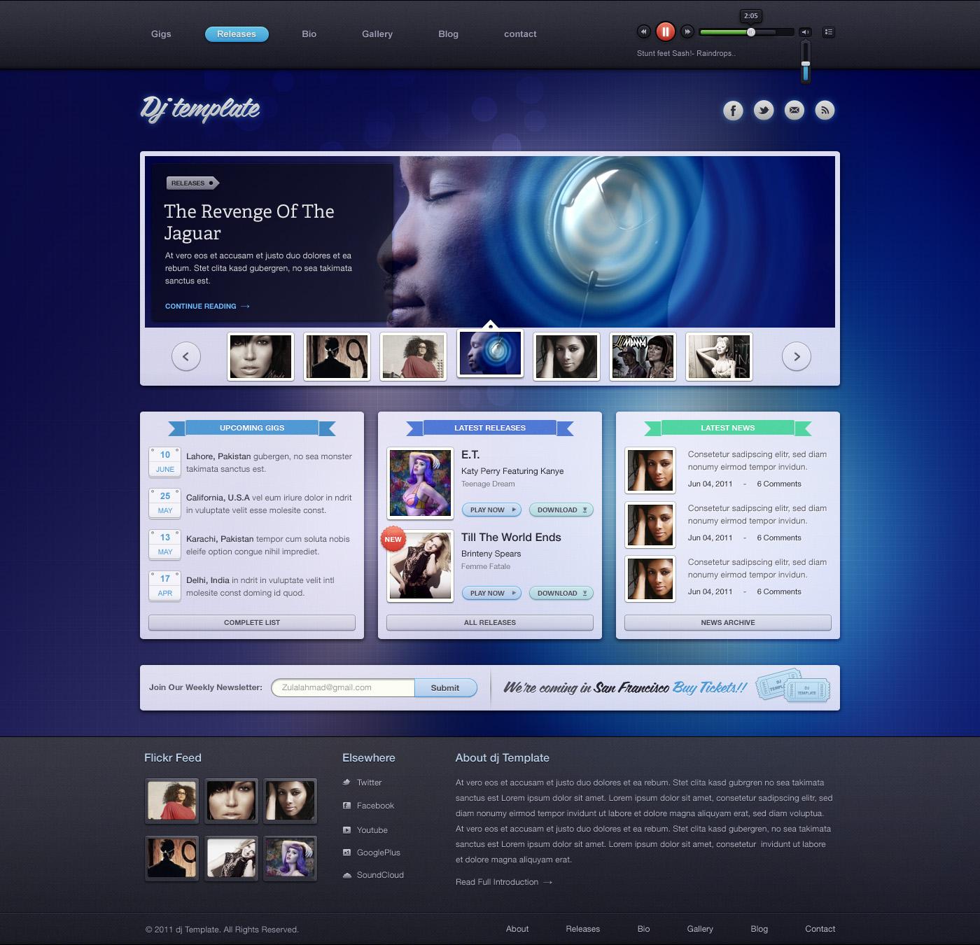 DJ Template WP by zee7