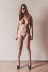 Nude in Heels II by Suitcasefotografie