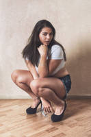 Sitting by Suitcasefotografie