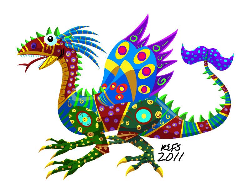 Libreta De Dibujo Mandala Unicornio Papel Blanco: Alebrije By Refs On DeviantArt