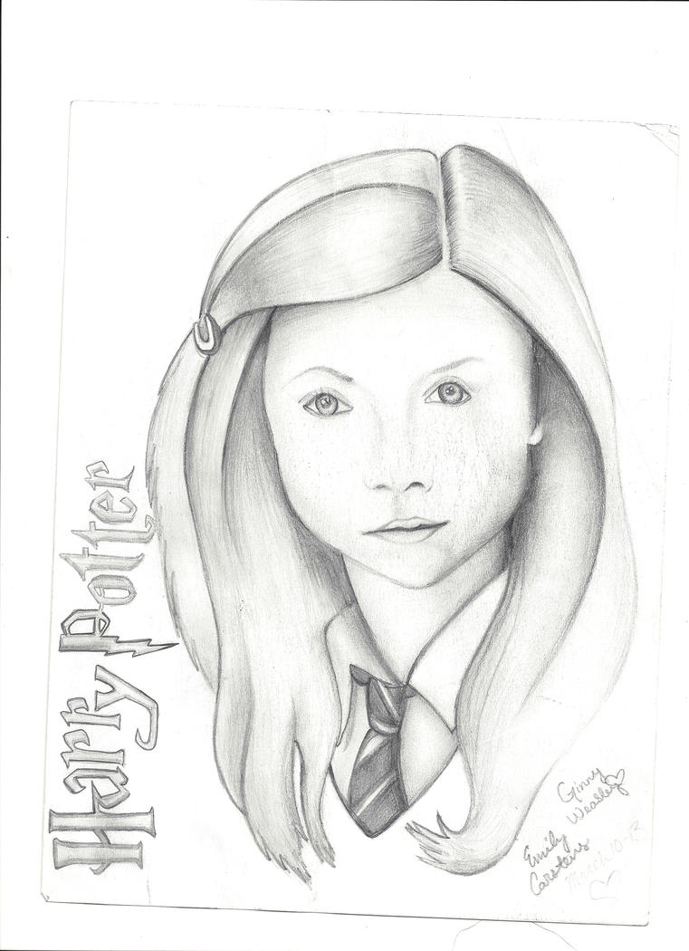 Harry Potter Coloring Pages Ginny Weasley Now - Ginny-weasley-coloring-pages