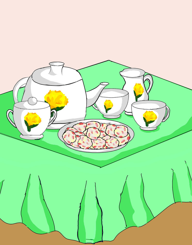 Tea Set by Pranxtorr
