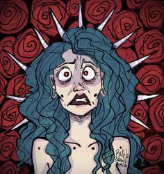 Anxiety  by BMeloART