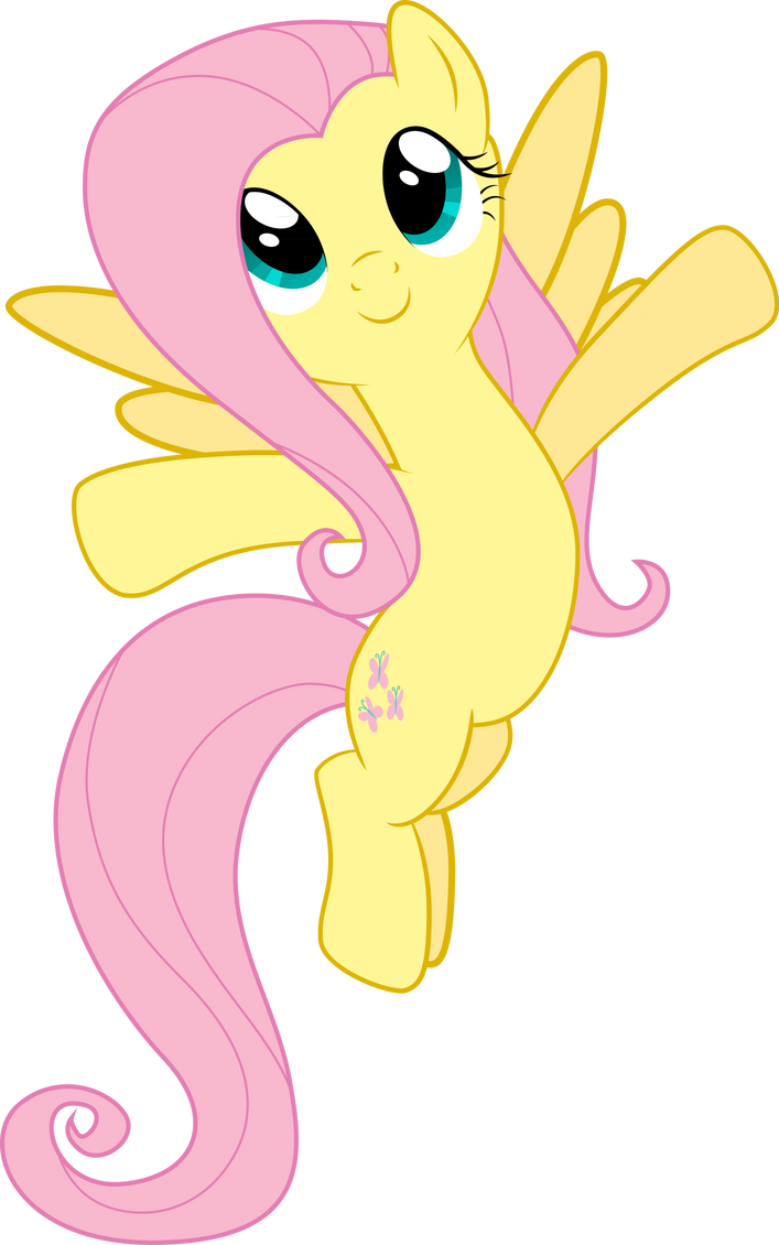 Fluttershy - Hug the World! by SpaceKingofSpace