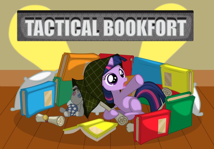 Tactical Bookfort by SpaceKingofSpace
