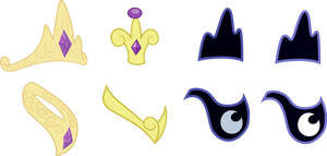 MLP - Princess Jewelry by SpaceKingofSpace