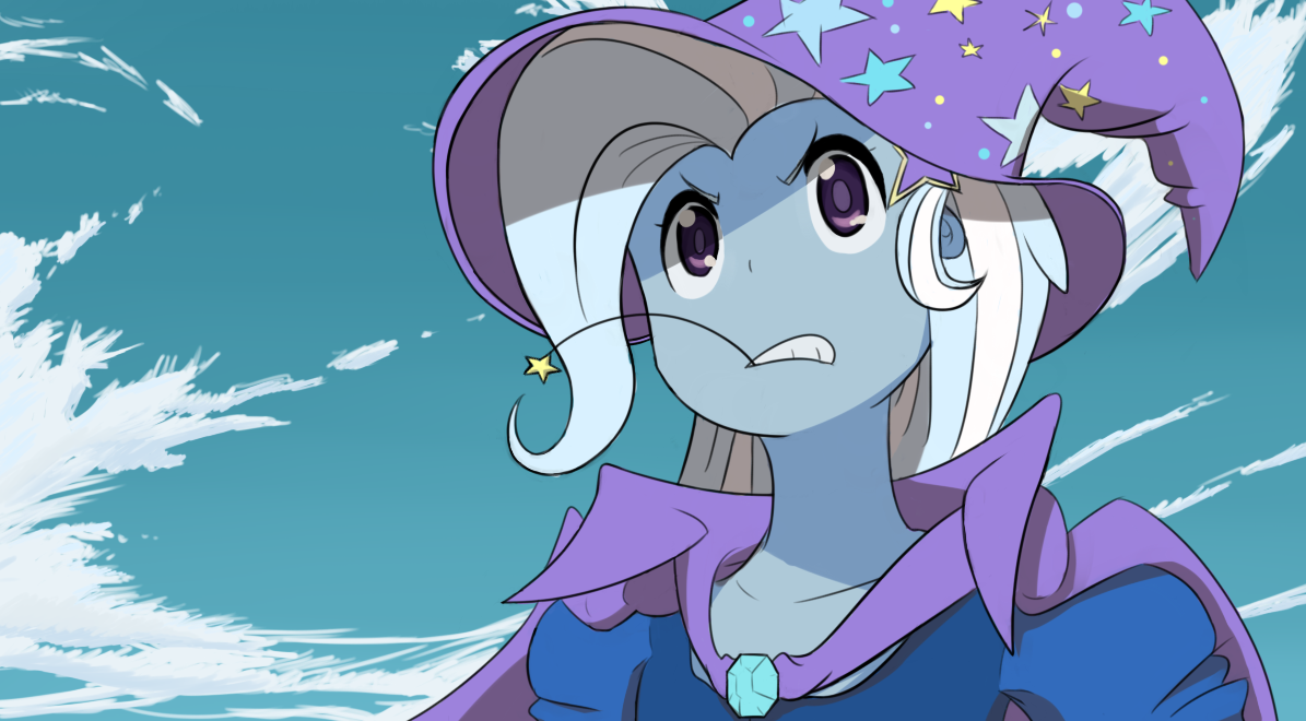 Trixie Mankanshoku, ala Kill la Kill by SpaceKingofSpace