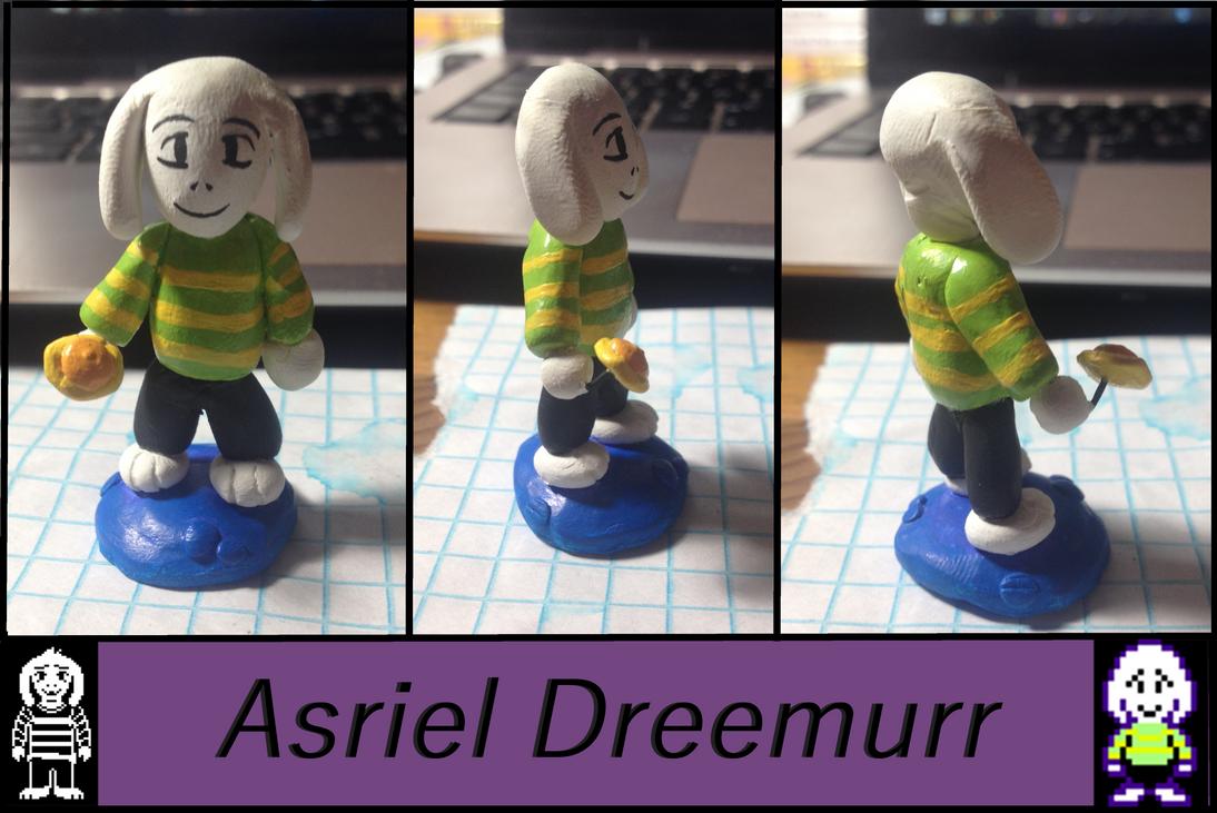 Lion Sculpts: Undertale Asriel Dreemurr by Lion-Oh-Day