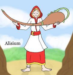 Alisium - Graceful Cleric